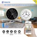 2.0 mega fhd 1080p wifi wall clock hidden camera 2