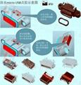防水沉板USB插座 5