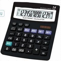 14 Digits Dual Power Office Desktop Calculator
