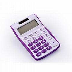 8 digit semi desktop calculator