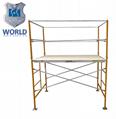 Frame scaffolding system hot dip ga  anized Pre-ga  anized scaffolding with walk 1