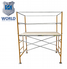 Frame scaffolding system hot dip ga  anized Pre-ga  anized scaffolding with walk