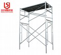 Safety and Stability Pre-ga  anized Highly Quality Frame Scaffolding for constru 1