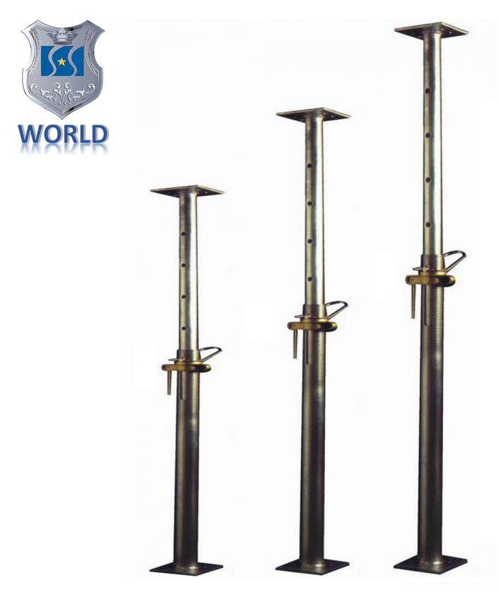 Wholesale Price Scaffolding Adjustable Steel Prop Jack Construction for Sale 1