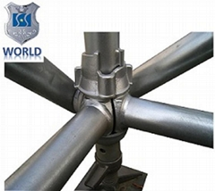 Steel Ringlock scaffolding coupler for construction for sale