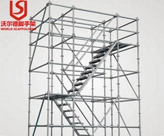 EN Standard Professional Factory high quality Scaffolding Steel Ladder StairCase