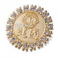 獅子會徽章