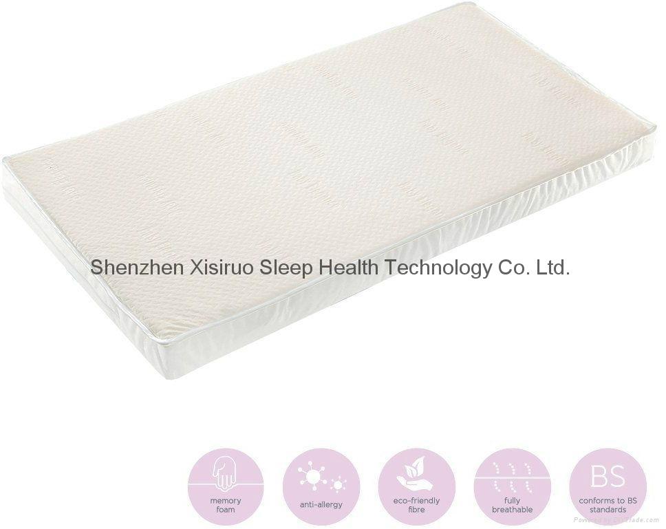 Baby Elegance Memory Foam Cot Bed Mattress 1