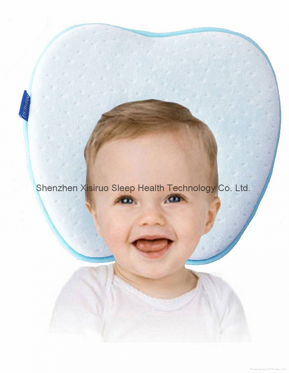 Baby Pillow Plagiocephaly Avoid baby flat head Memory Foam Pillow Toddler Pillow 4