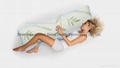 Bamboo Body Pillow Memory Foam Support