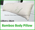 Bamboo Body Pillow Memory Foam Support Full Long Large Natural Antibacterial 2