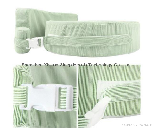 NEW BABY BREAST FEEDING SUPPORT MEMORY FOAM PILLOW W ZIP COVER GREEN WASHABLE $ 1