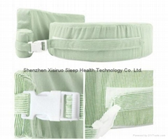 NEW BABY BREAST FEEDING SUPPORT MEMORY FOAM PILLOW W ZIP COVER GREEN WASHABLE $