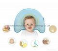 Newborn Prevent Flat Head Memory Foam Pillow Infant Baby Sleep Cushion Support  3