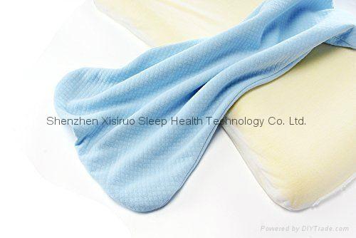 Soft Memory Foam Baby Pillow for Newborn Sleeping Prevent Flat Head  1