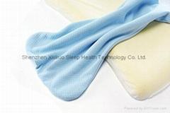 Soft Memory Foam Baby Pillow for Newborn Sleeping Prevent Flat Head