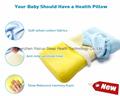 Soft Memory Foam Baby Pillow for Newborn Sleeping Prevent Flat Head  2