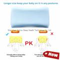 Soft Memory Foam Baby Pillow for Newborn Sleeping Prevent Flat Head  5