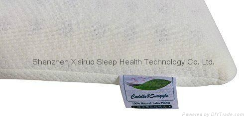 Toddler Memory Foam Pillow Sleeping Head Support Prevent Flat Head 100% Natural  1