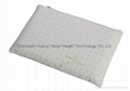 Toddler Memory Foam Pillow Sleeping Head Support Prevent Flat Head 100% Natural  2