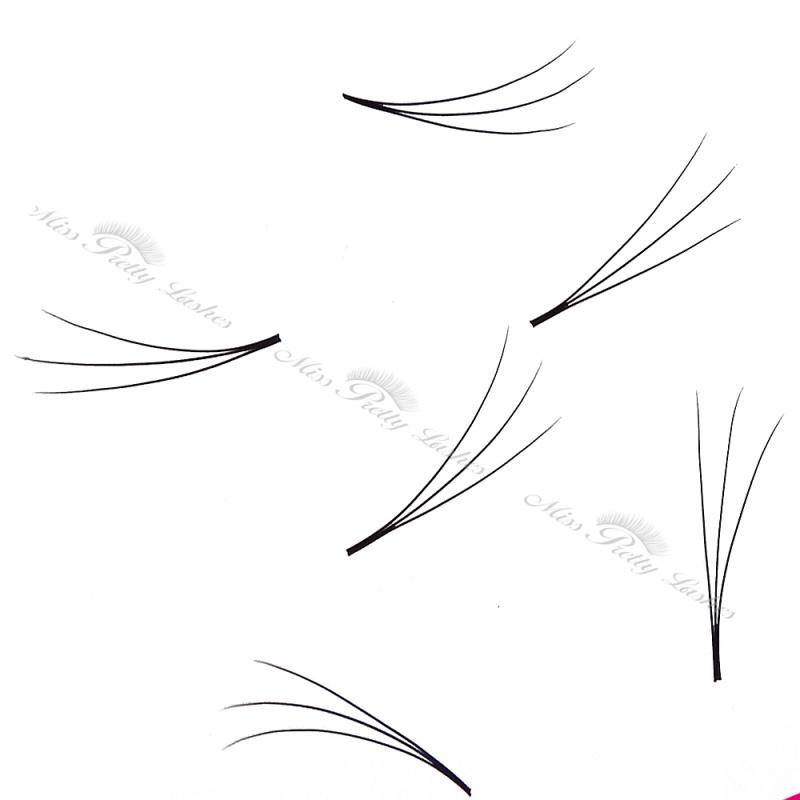 Volume lashes 3d pre-made fan eyelash extension 1