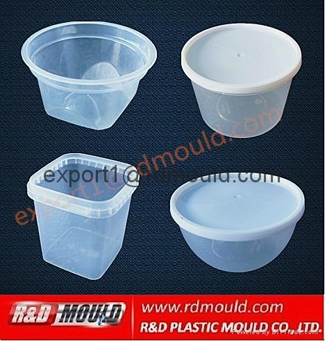 thinwall container mould 1