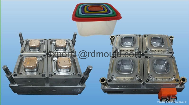 thinwall container mould 2