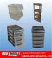 cabinets rack injection moulds
