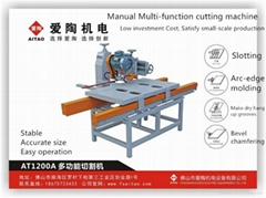 manual tile cutting mach