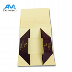 Folding Cardboard Material Custom Making Mooncake Box