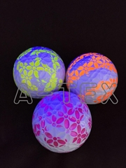 blacklight graffiti golf ball