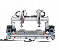 蘇州廠商直供五軸雙平台螺絲機