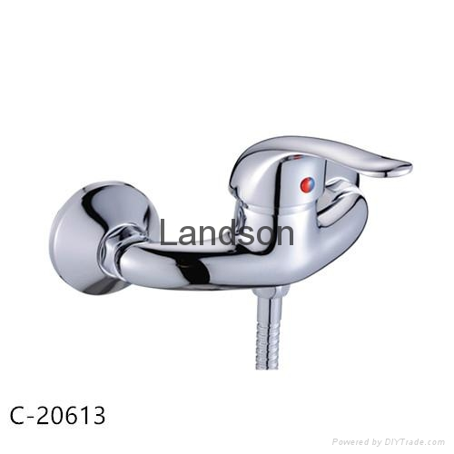 Single Handle Brass Bathroom Mixer Faucets Series 3