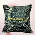 原創圖騰藝朮優質棉麻抱枕 1
