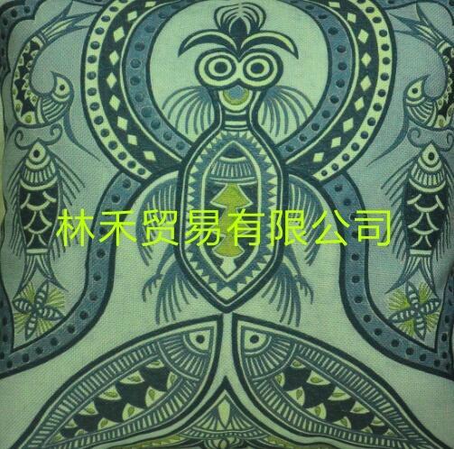 原創圖騰藝朮優質棉麻抱枕 4