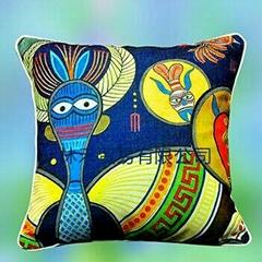 民族風原創藝朮優質棉麻抱枕