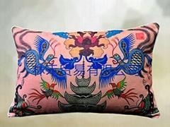 原創藝朮優質棉麻腰枕