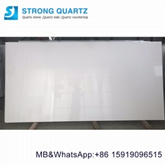 ultra super white artificial quartz stone for kitchen countertops