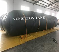 VenicetoFolding Rectangular Collapsible Truck Bed Water Storage Tank 10000 Liter