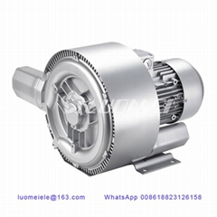 Three Phase Double Stage Electric Vacuum Blower For Industrial