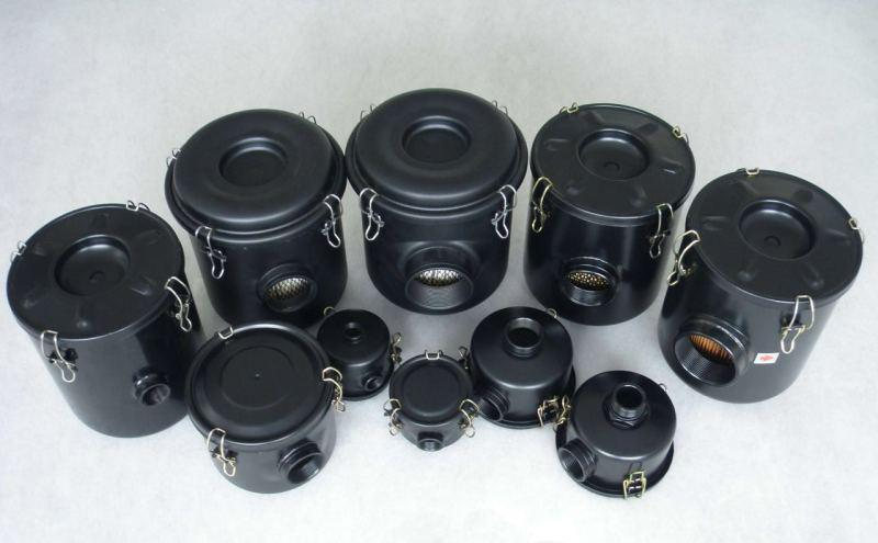 F series vacuum pump inlet filters blower air filter 2