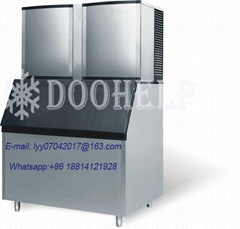 Ice making machine ce approved small capacity industrial cube ice block making m