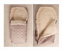 Wool Universal Baby Sleeping Bag Comfort Travel Blanket Swaddle Wrap Warm Sleeve