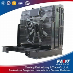 Good quality 3516E CAT diesel generator radiators on sale