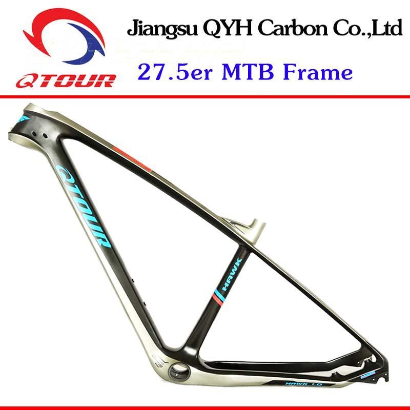 650B China Carbon MTB Frames 27.5er carbon bicycle Mountain Bike frame TORAY T70 4