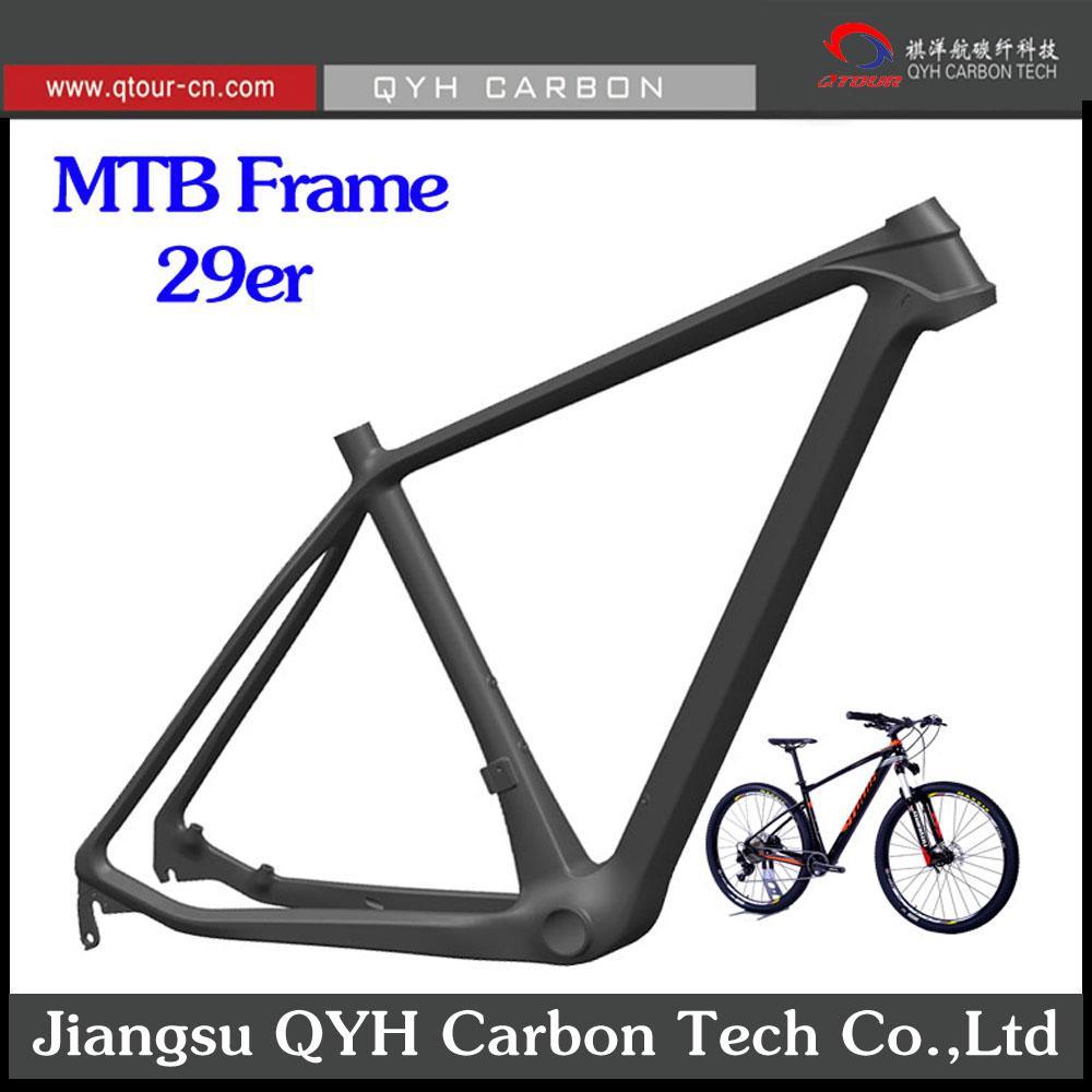 Toray carbon fiber Hardtail 29er MTB FRAME QTOUR Carbon Bike Frame 4