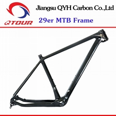 Toray carbon fiber Hardtail 29er MTB FRAME QTOUR Carbon Bike Frame