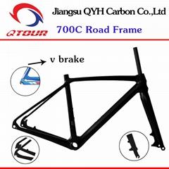 江苏祺洋航碳纤公路自行车车架R01全碳自行车车架