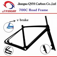 R01 Disc Brake Carbon fiber Road Bicycle Frame set 700C Carbon Road Bike Frame