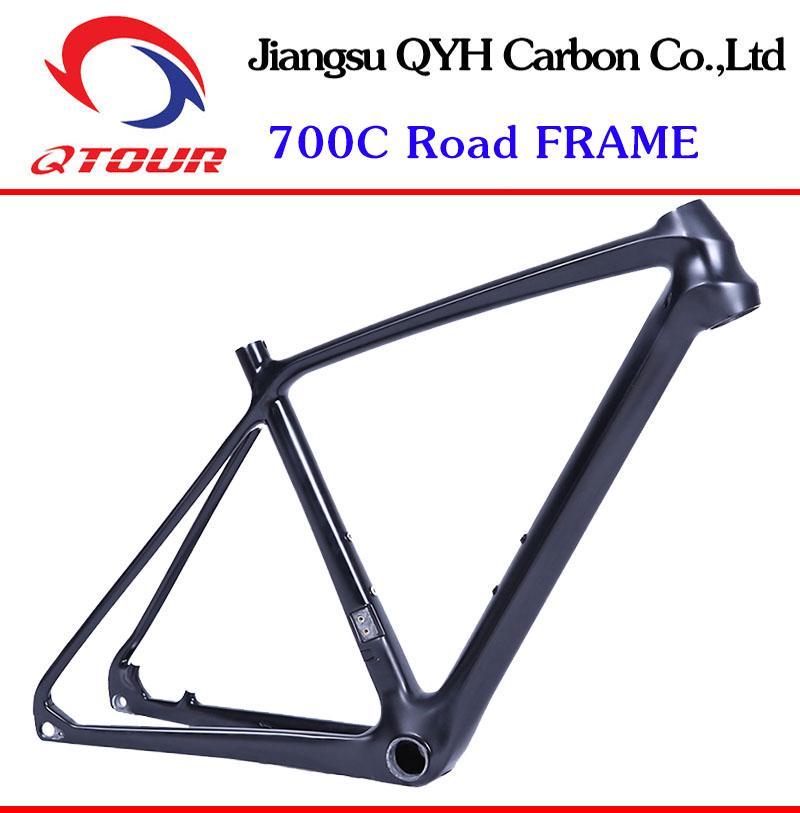 R01 Disc Brake Carbon fiber Road Bicycle Frame set 700C Carbon Road Bike Frame  2